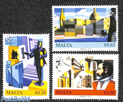 Valetta European cultural capital 3v