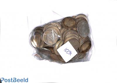 100 zilveren guldens (1954-1967)