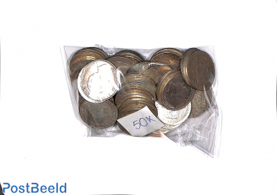 50 zilveren Guldens (1922-1945)