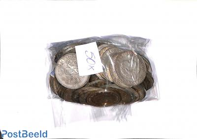 50 zilveren Rijksdaalders (1959-1966)