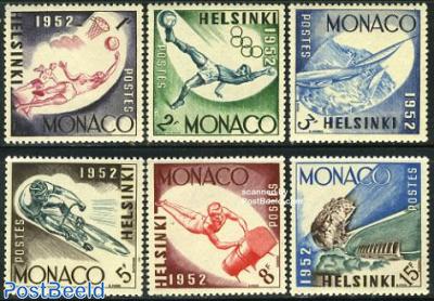 Olympic games Helsinki 6v