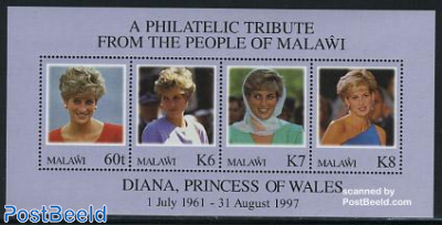 1st death anniversary of Diana s/s