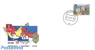 Reunie Oudstrijders 7 december divisie, Special cover