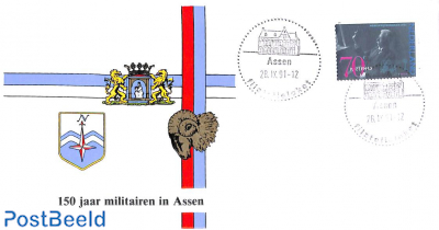 150 years militairs in Assen, Special cover