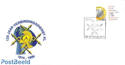125 years Verbindingsdienst KL, Special cover