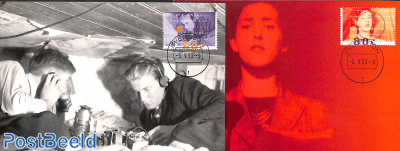 Radio Oranje 2v, Max. cards NM set