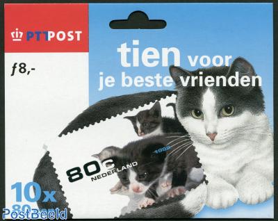10 voor je beste vrienden, hangpack with 10 stamps