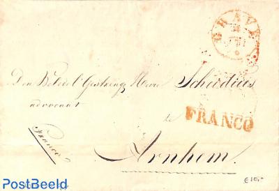 Folding cover to Anrhem, franko