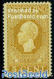 3c, King Willem II, perf. 11.5
