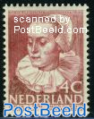 4+2c, Maria Tesselschade, Stamp out of set