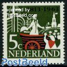 5c, King Willem I, Stamp out of set
