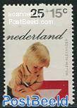 25+15c, Willem Alexander, Stamp out of set