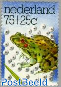 75+25c, green frog, Stamp out of set