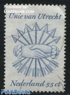 55c, Stamp out of set