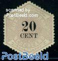20c, Telegram, Stamp out of set