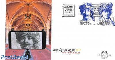 Rembrandt in Rijksmuseum 2v FDC