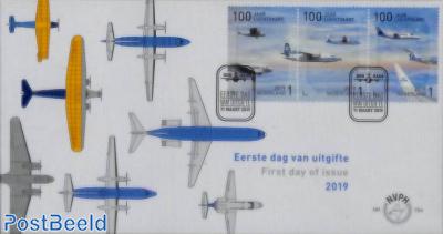 100 years aviation 3v, FDC