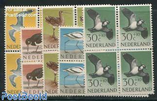 Summer, Birds 5v, Blocks of 4 [+]