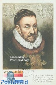 Willem van Oranje max card NM set