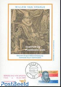 Willem van Oranje max card Trompet