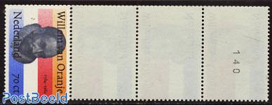 Willem van Oranje coil stamp strip of 5