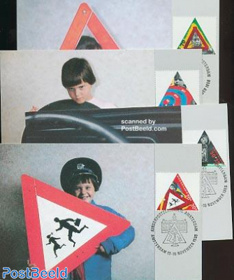 Traffic safety Max. cards NM set
