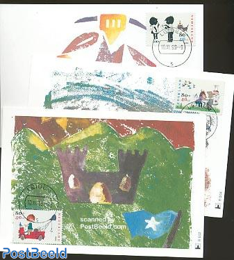 Child welfare Max cards Mill set