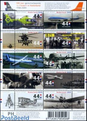 100 years motorized aviation 10v m/s
