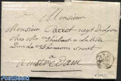 Letter from s-Gravenhage (La Haye) to Amsterdam