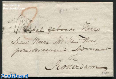 Letter from s-Gravenhage to Rotterdam