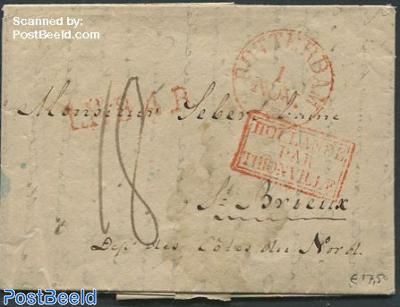 Folding invoice to Bordeaux