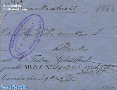 Folding invoice from Delft