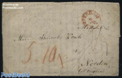 Letter from Amsterdam to Norden