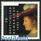 Rembrandt 1v (Only valid for postage in Netherland
