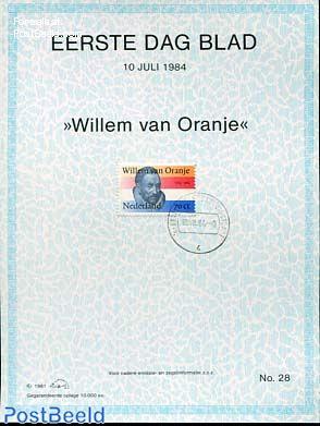 Willem van Oranje,  EDB Visje 28