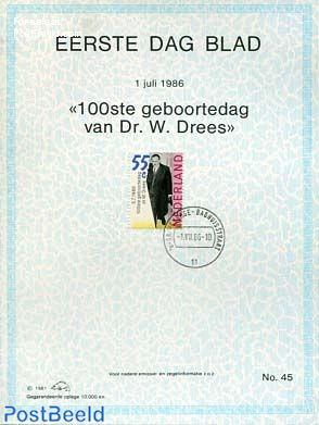 Willem Dress  EDB Visje 45