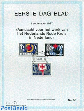Red cross,  EDB Visje 55