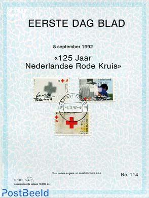 Red cross,  EDB Visje 114