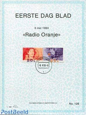 Radio oranje,  EDB Visje 126