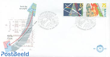 Willem III & Mary 2v FDC