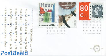 Mixed issue 3v FDC