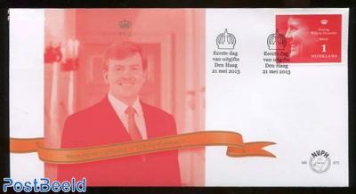 King Willem-Alexander 1v, FDC