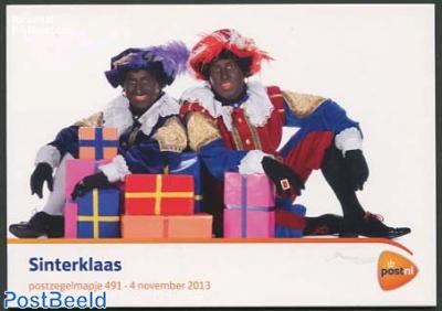 Sinterklaas, Presentation pack 491