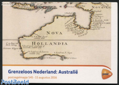Borderless Netherlasnds-Australia, presentation pack 545