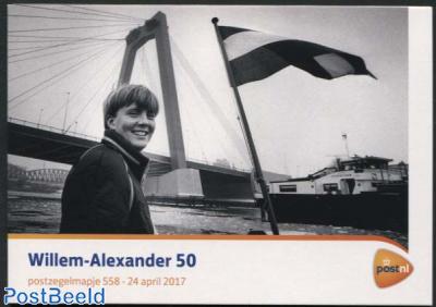 King Willem-Alexander 50th birthday, presentation pack 558