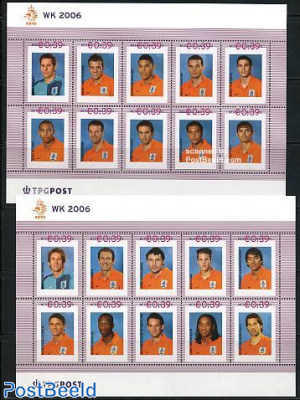 Oranje, official collection 2x10v m/s