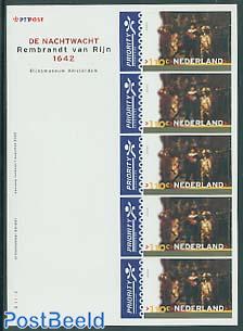 Rembrandt m/s (5x110c)