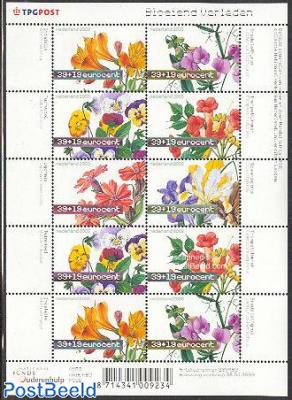 Summer, flowers minisheet