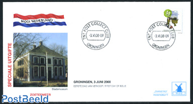 Beautiful Holland, Groningen, mill FDC