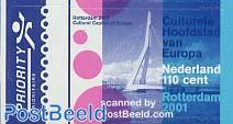 Rotterdam European cultural capital 1v s-a